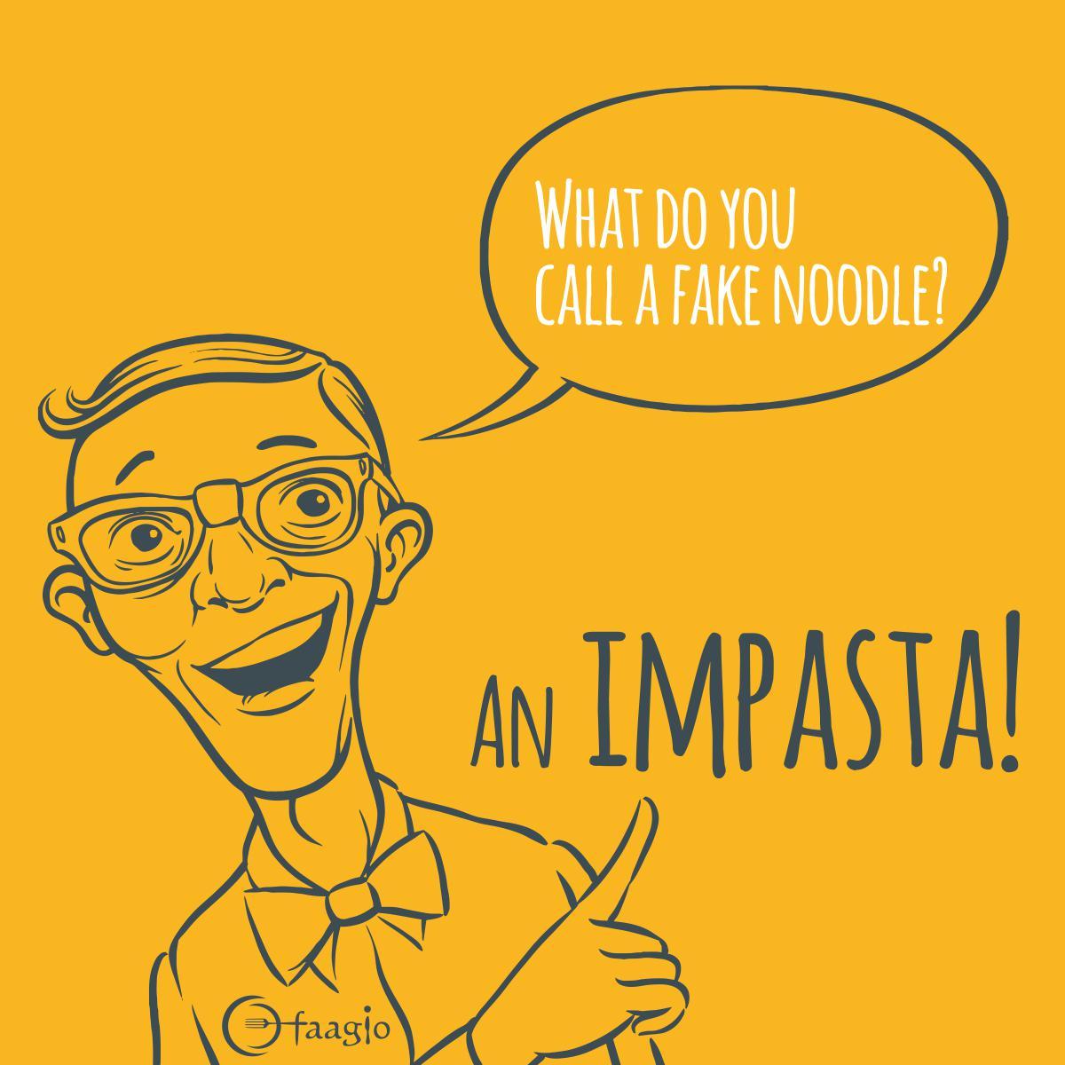 faagio on twitter faagio goodfood impasta puns buns jokes