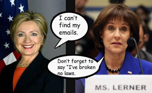 Boom Carly! Lois Lerner goes on paid leave but KY clerk #KimDavis goes to jail?