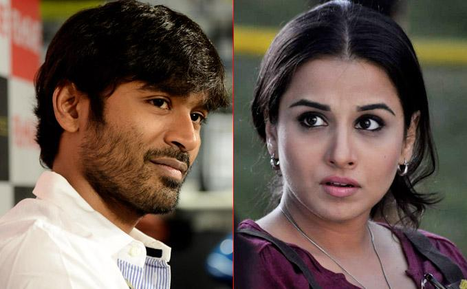 Vidya Balan not part of Dhanush's next film: Director
