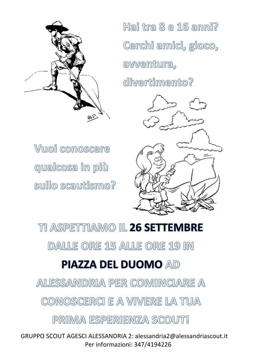 Open Day Gruppo Scout Agesci ALESSANDRIA 2 @ Duomo di Alessandria