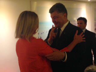 Могерини приняла приглашение Порошенко в ближайшее время посетить Украину - Цензор.НЕТ 9510
