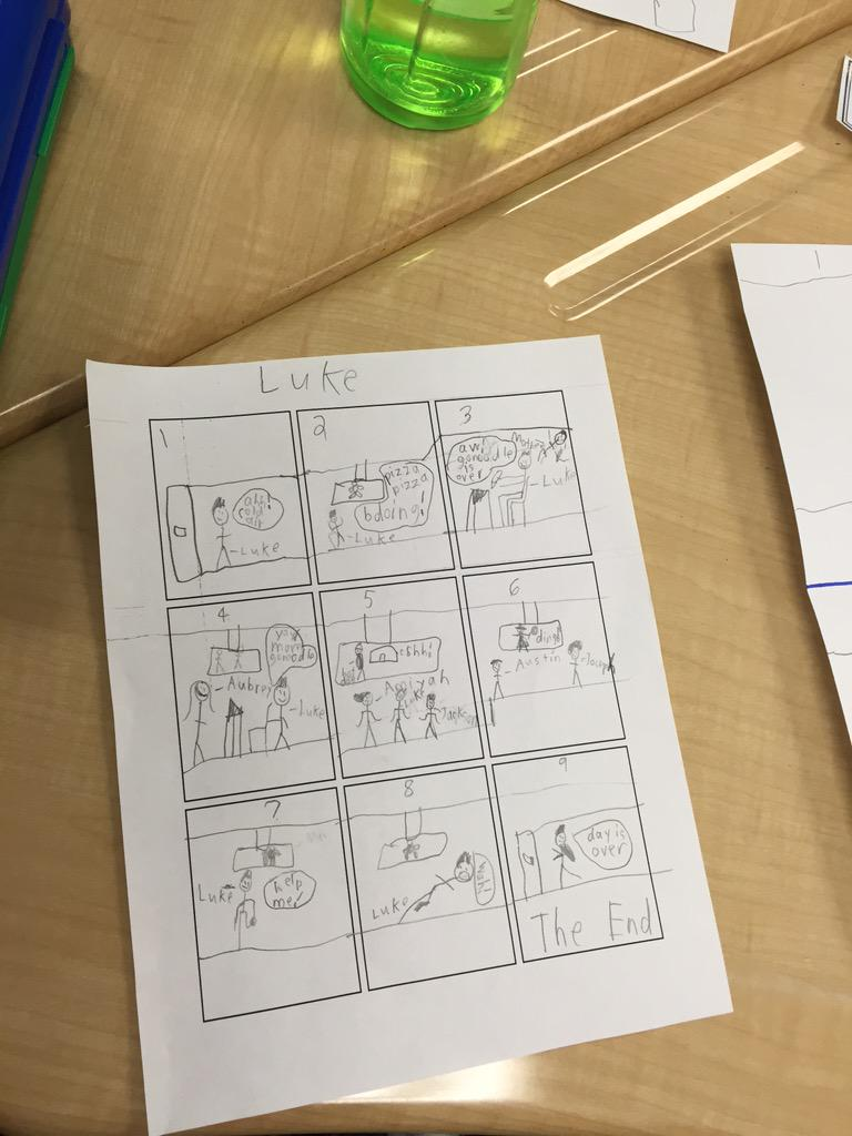 Learning interjection through comic strip writing. @mscristinachoi #camlearns http://t.co/MkeJUTeYt1