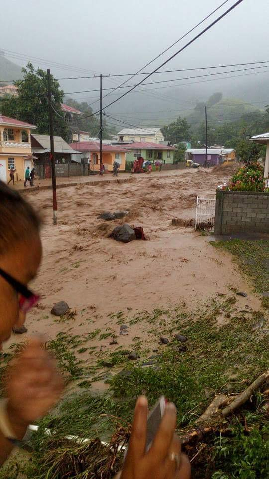 Tropical Storm Erika swamps Dominica; 3 people dead