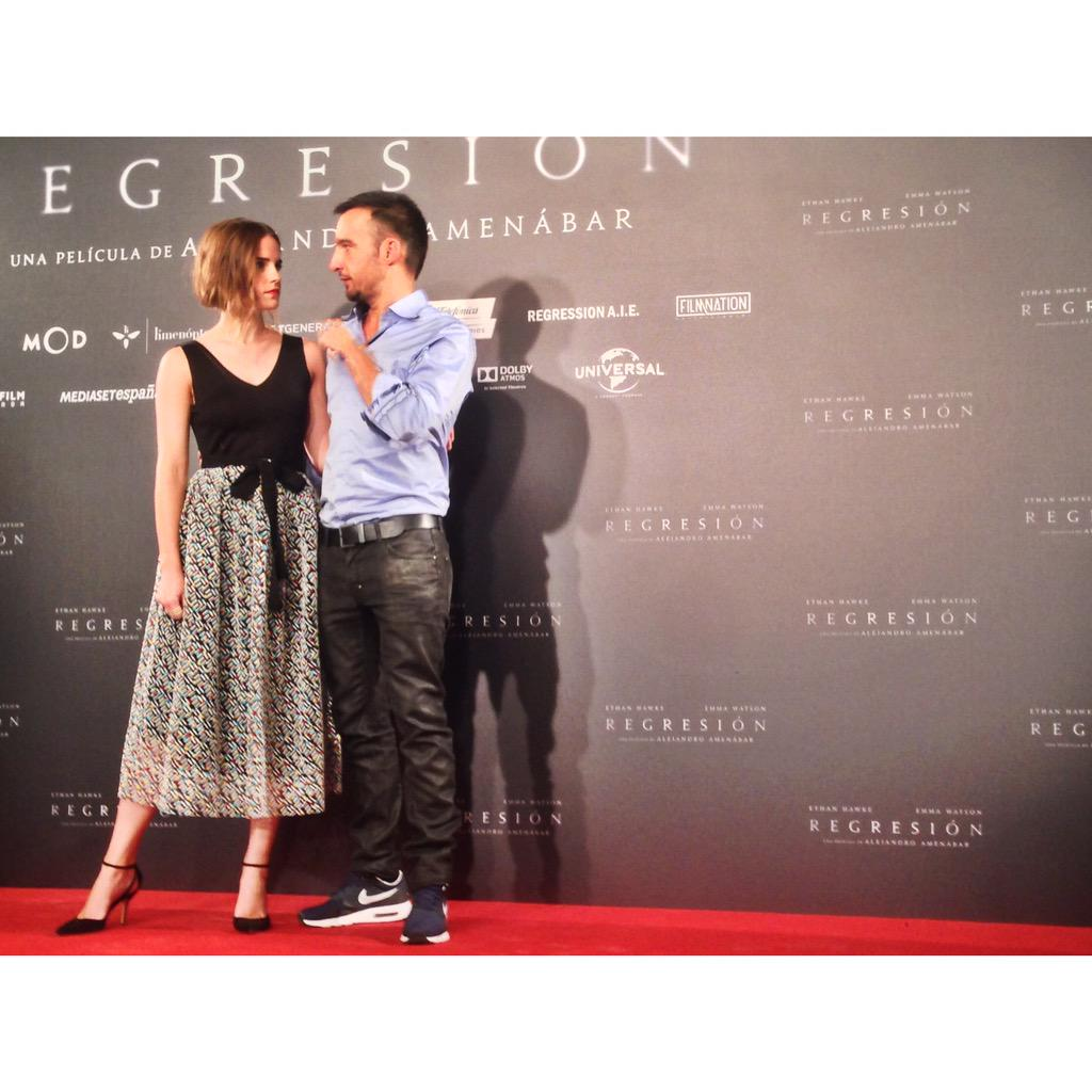 Such a great experience with such a wonderful director. Thank you Alejandro Amenabar xxx #Regression #Madrid http://t.co/V1DJUZC3mo