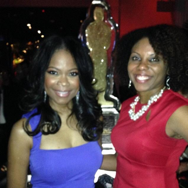 #TBT Me n @Angelarobschild -our 1st #OscarsAfterParty! FUN night!! Believe me, she's no #IceQueen!! #HAHN http://t.co/BUNj4kL07P