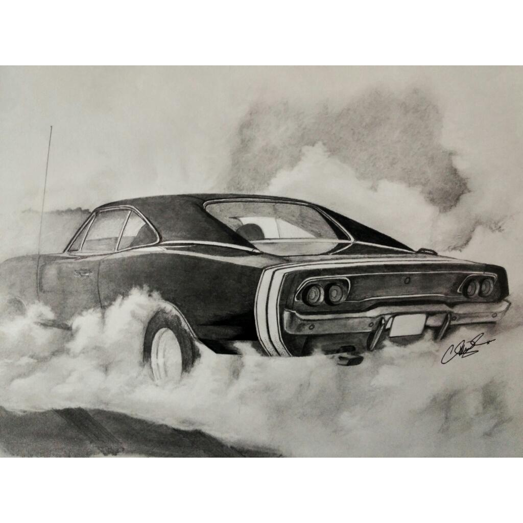 allan abraham on twitter burnout time 1970 dodge charger r t pencil and black ball point pen. Black Bedroom Furniture Sets. Home Design Ideas