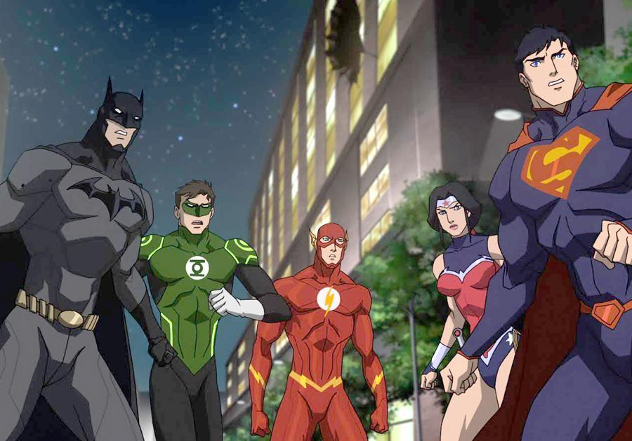 justice league cartoon - HD1920×1080