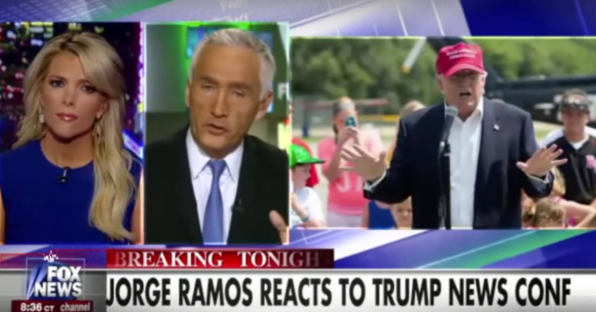 Megyn Kelly defends Mexican supremacist Jorge Ramos