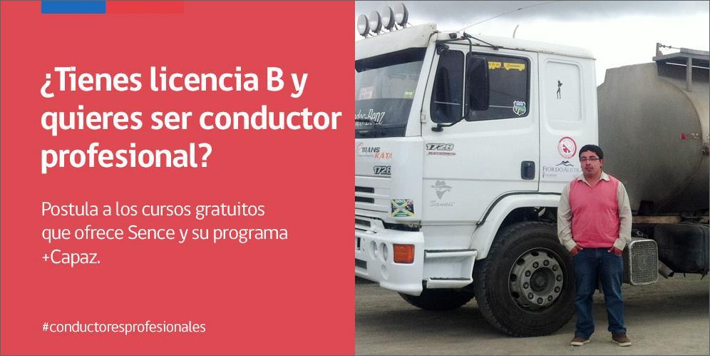 cursos de conductor profesional gratis