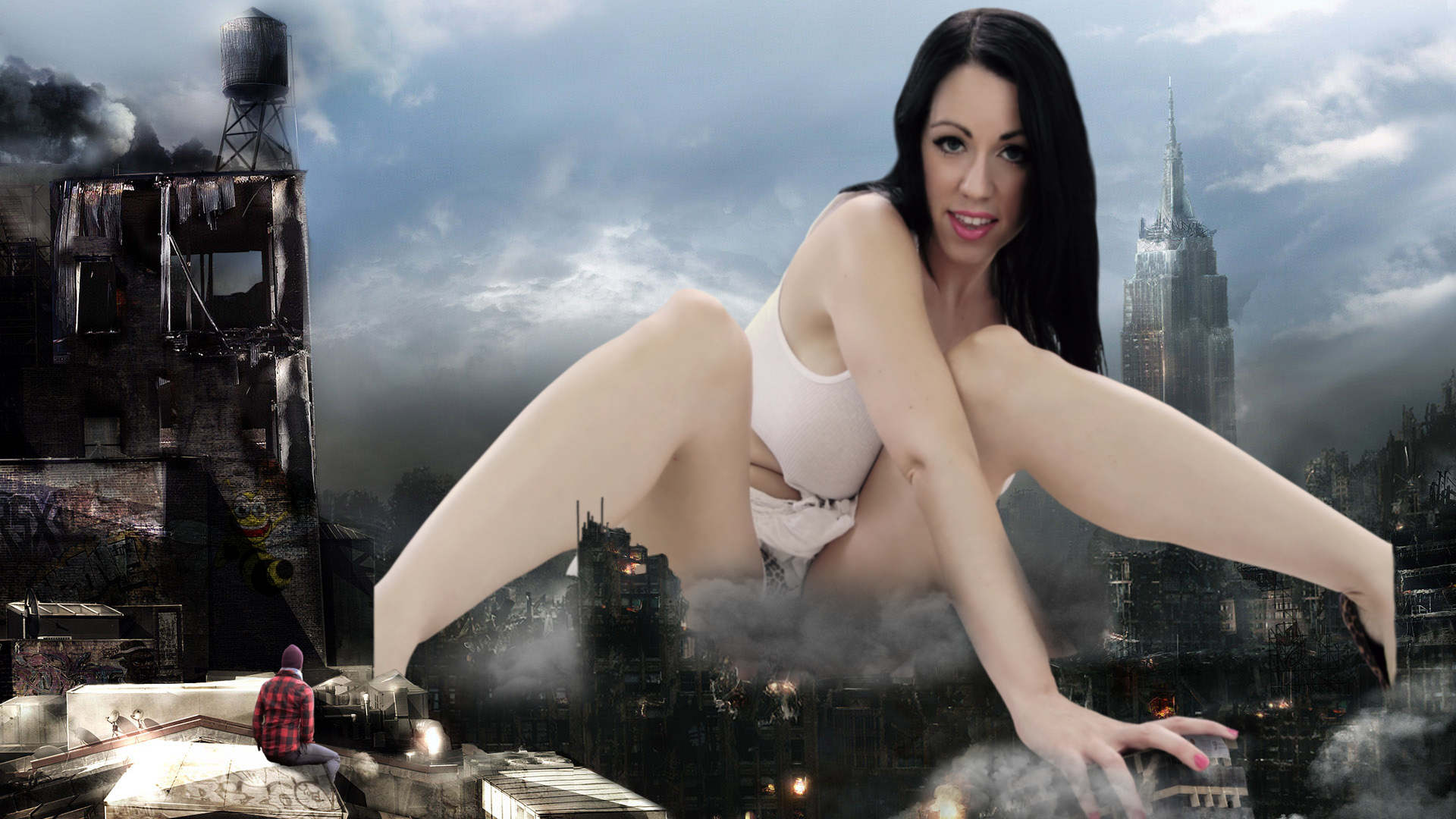 giantess kayla kiss