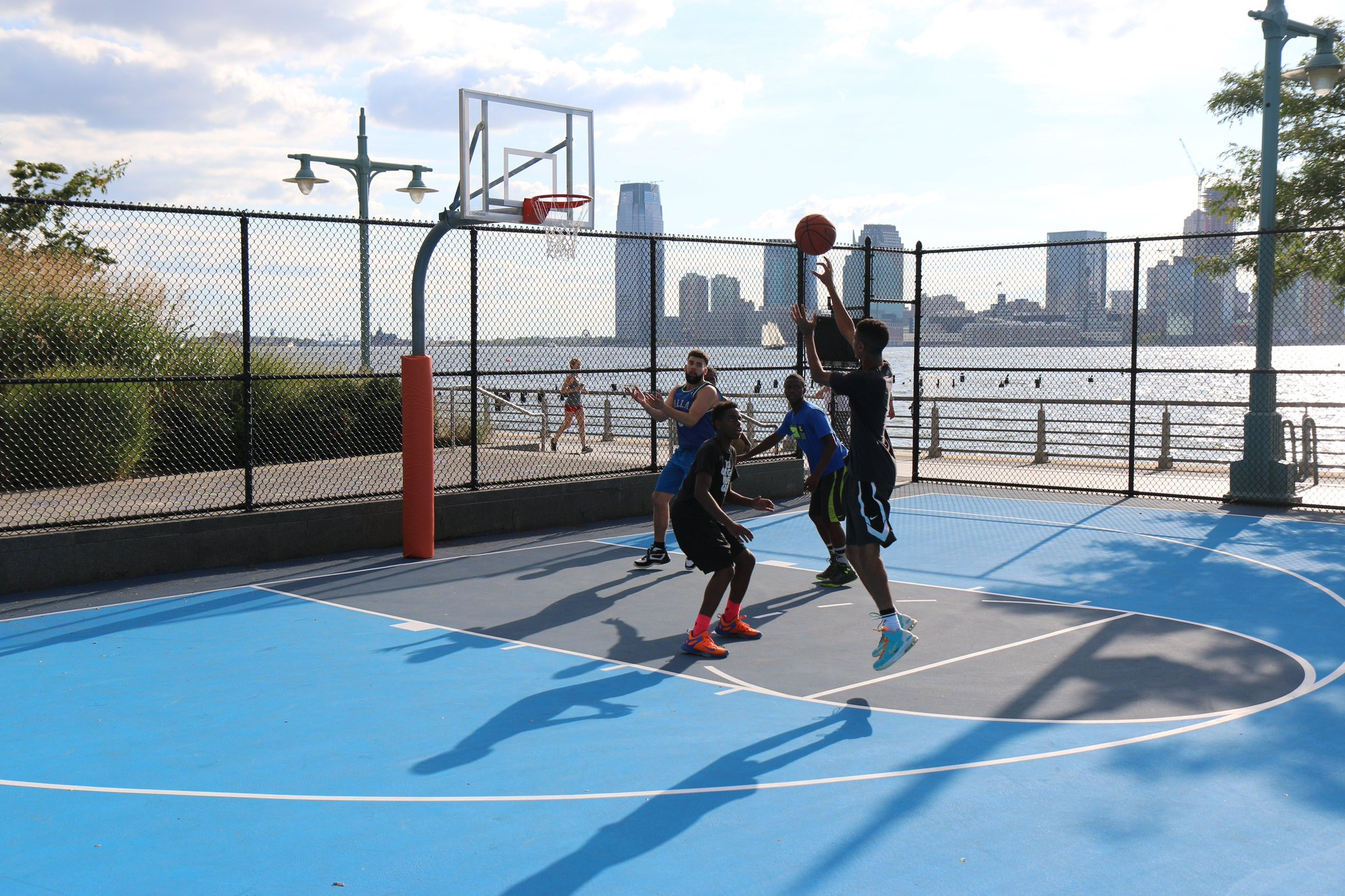 Hudson River Park On Twitter Our Basketball Court At