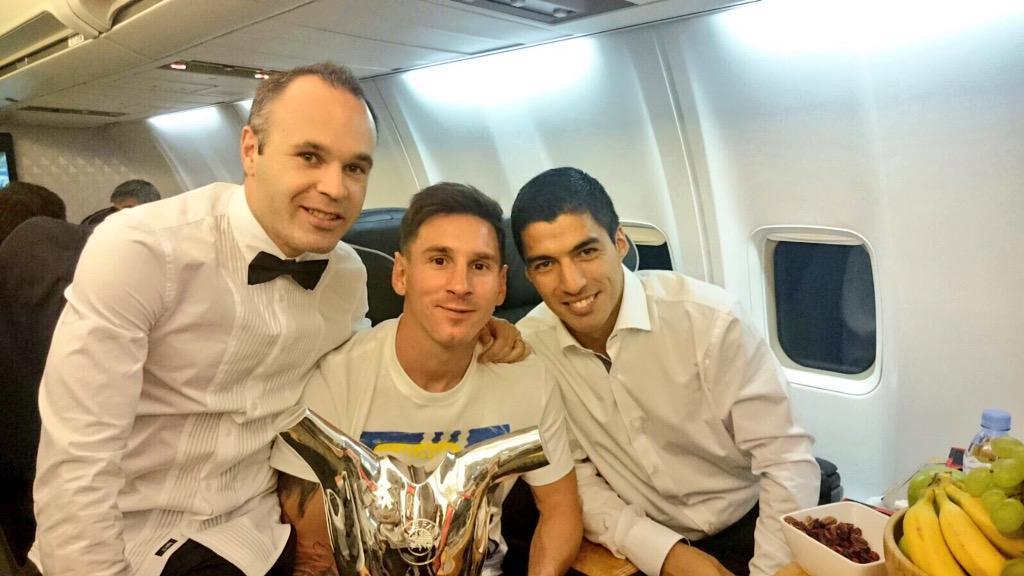 Volviendo de Mónaco. Felicidades Leo... Eres único!! Con ganas de empezar la Champions una nueva temporada!
