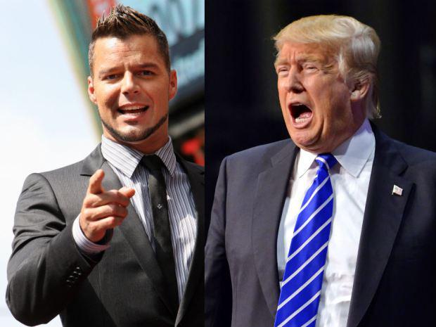 Ricky Martin contro Donald Trump