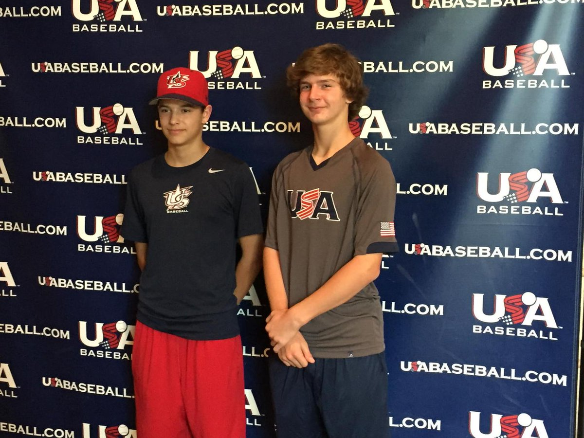 Vipers Baseball Club On Twitter Logan Beard And Austin Reed Representing The Vipersballclub At The Usabaseballntis Http T Co To9igptzbk