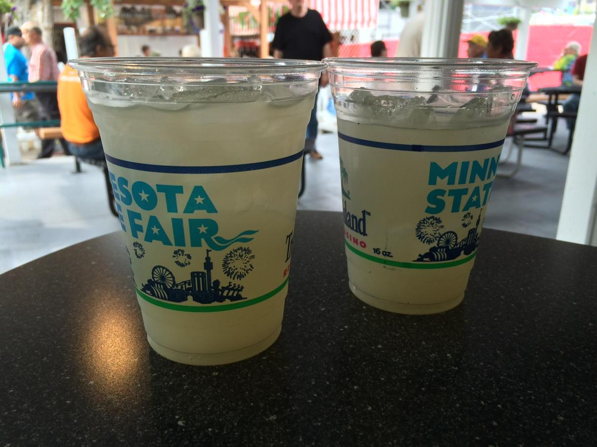 Cucumber Lemonade - 2015 Minnesota State Fair food