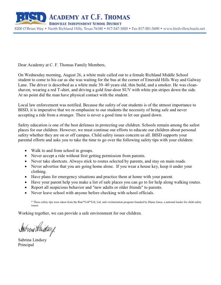 Bidville Isd Sending Letter Home To Parents At 2 Schools Near Where