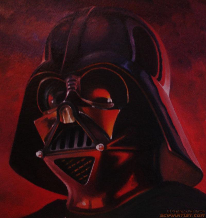 Paul Burrow On Twitter One Of My Darth Vader Oil Paintings Starwars Darthvader Sith DarthVader No1 IsDARTHVADER Painting Art Scifi