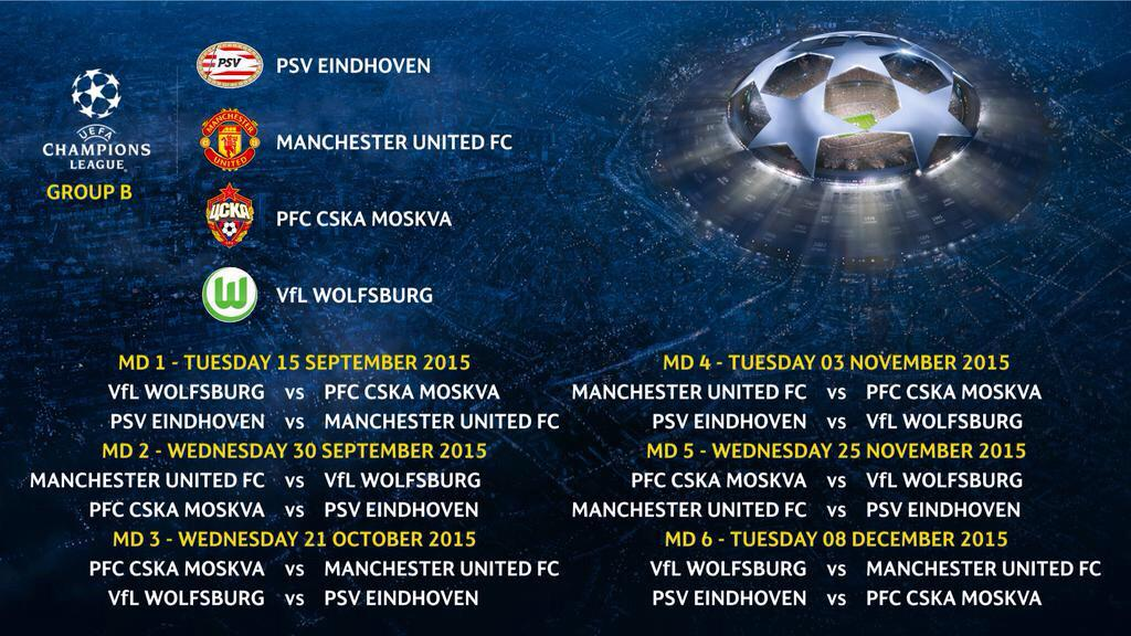 Not bad for us. Homecoming for Memphis at Eindhoven. #UCLdraw http://t.co/hRcFC3Uwy1