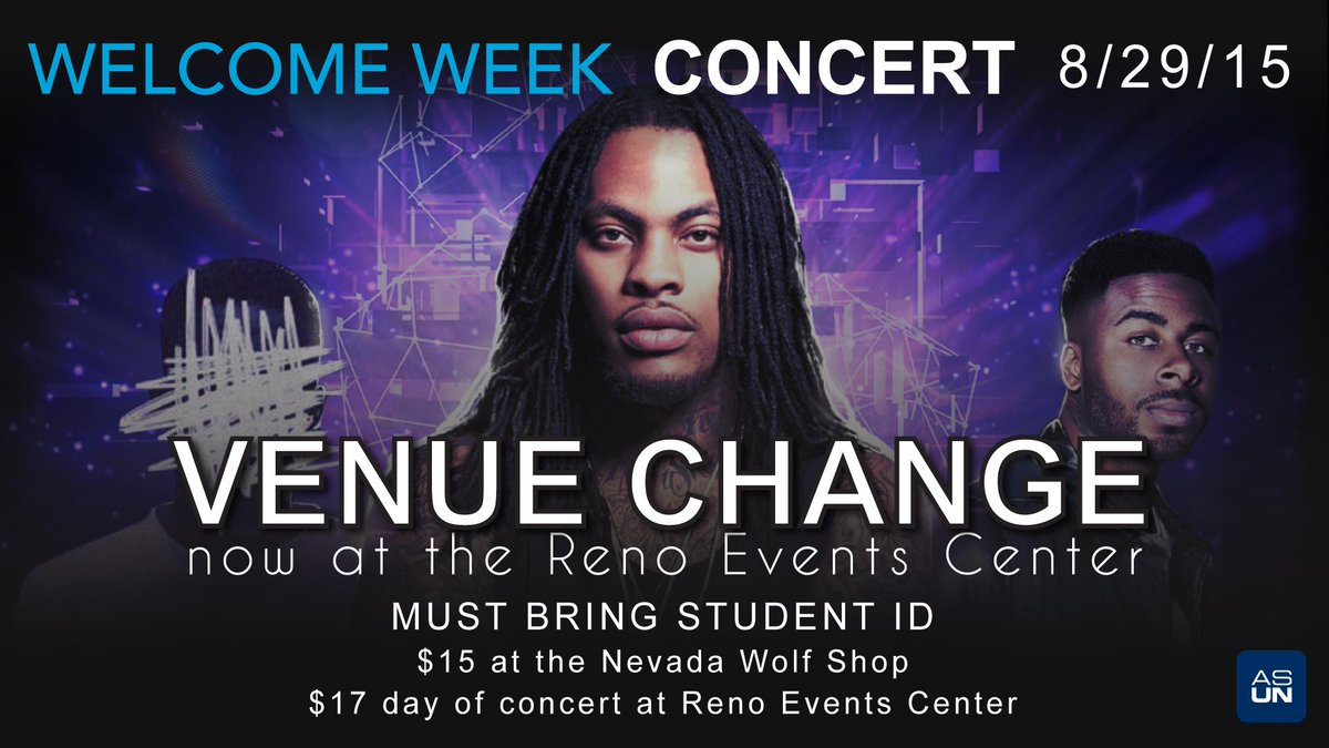 Asun On Twitter Campus Escort Will Shuttle From The Dc To Reno Events Center Saturday Night For The Welcome Week Concert