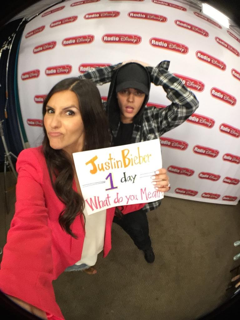 #WhatDoYouMean comes out tomorrow! @justinbieber is going to be on @CandiceOnAir's show at 12p PT/3p ET! http://t.co/sQyk8eNIuR