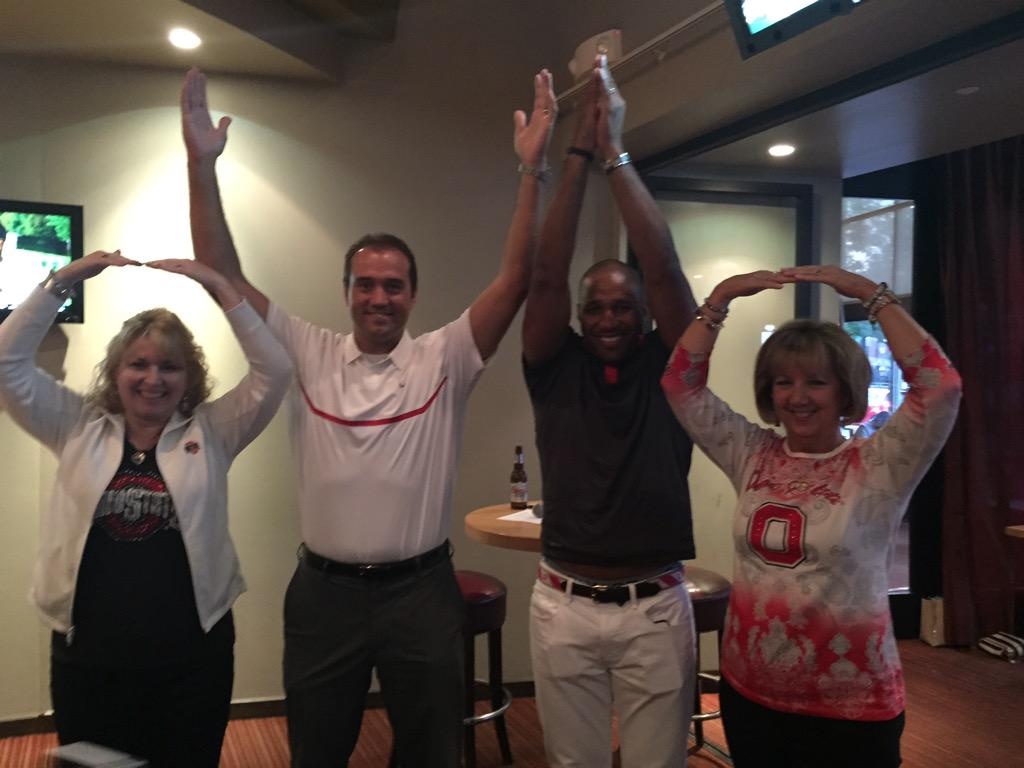 Ohio State On Twitter Mt Ohiostatealumni Buckeye Pride W Former Football Players Ryan Miller And Brandon Mitchell Osuevents Http T Co Puxlw85r60