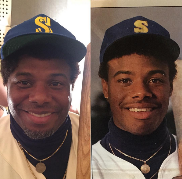 Sportscenter On Twitter Ken Griffey Jr Recreates His 1989