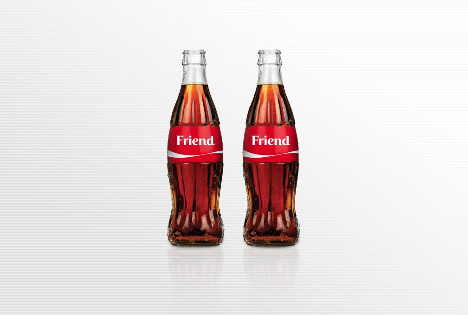 Share a coke campaign - Hotcopy