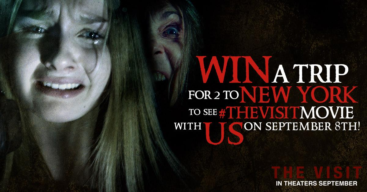 WIN A TRIP TO NY w US! Tweet I want to see @UniversalHorror #TheVisitMovie at #BFvsGFscreening http://t.co/Is0fFpeyP8 http://t.co/lMOYdoREC1