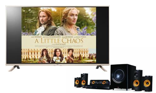 It's #FreebieFriday - Retweet & follow us for your chance to #WIN a TV, surround sound and Blu-ray player!