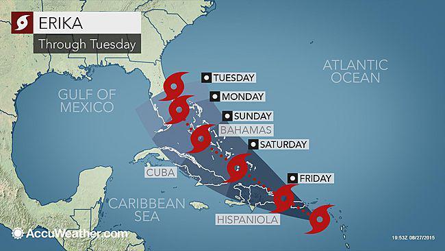 ouragan erika 2015