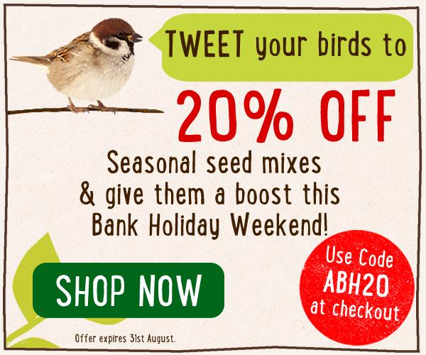 RT @birds_and_bees: 20% OFF Seasonal seed mixes this weekend! http://t.co/tNpQM0Ga1N http://t.co/S27BgryXY6