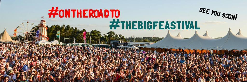 Who's coming to @thebigfeastival today! Share your journey pics #OnTheRoadTo #TheBigFeastival http://t.co/ysC12ljHd8