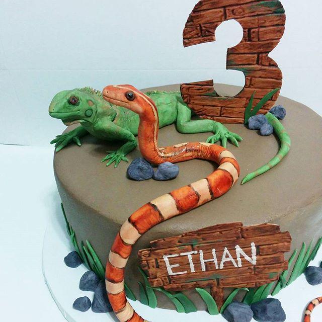 Brilliant Reptilecake Hashtag On Twitter Personalised Birthday Cards Xaembasilily Jamesorg
