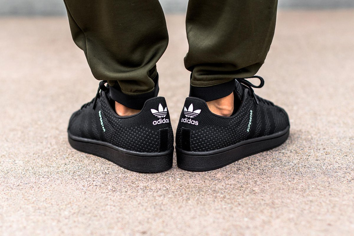 Adidas Superstar Weave Core Black