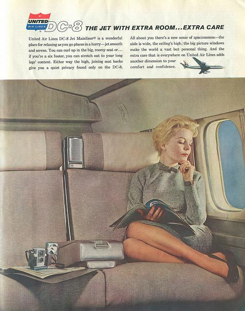 Yes, people really did #travel like this on the #airlines back in the day. #PaxEx cc: @United http://t.co/hxpnztFH78 http://t.co/RX3Pl2nzHD