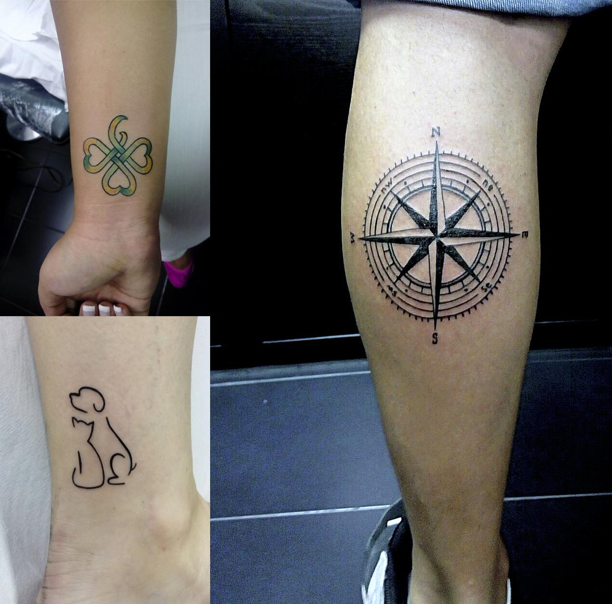 Pura Vida Tatuajes On Twitter Tattoo By At Cesarrbtattoo Trebol