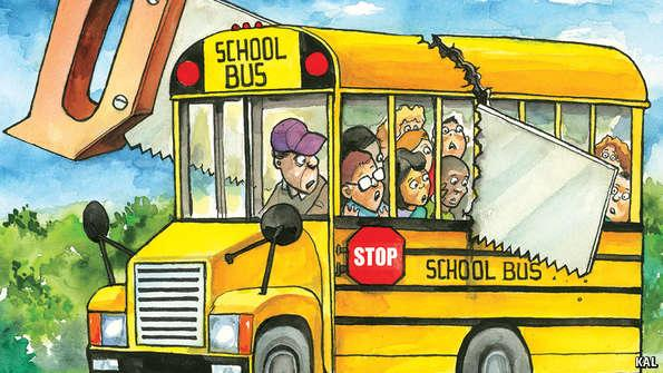 Look what america is doing to its iconic school bus service