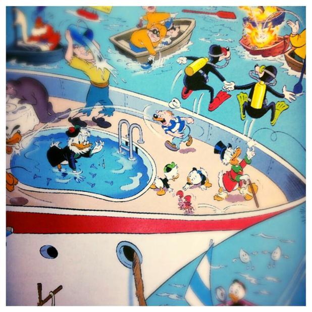 kleurplaten nl spreekwoorden kleurplaat donald duck
