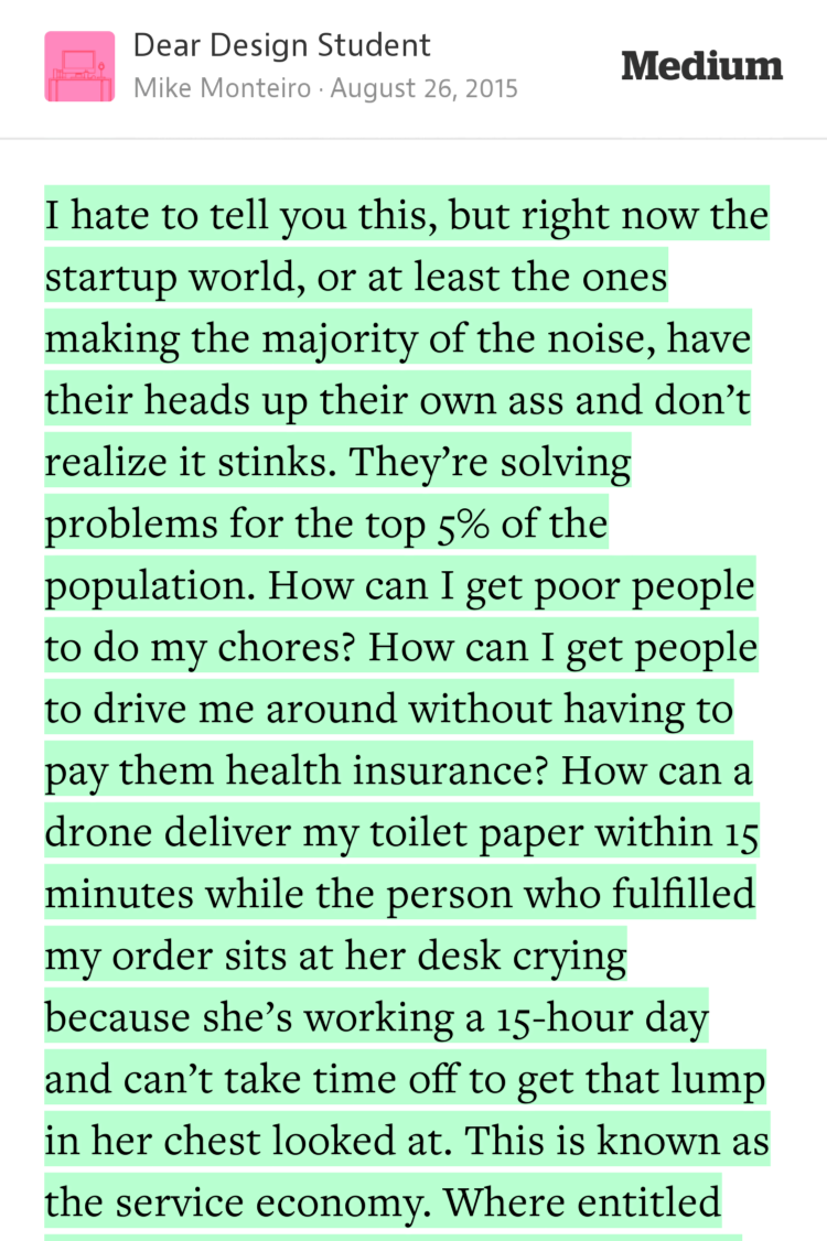 """They're solving problems for the top 5% of the population"" — @monteiro https://t.co/ITvtXFkhx6 http://t.co/2Mjeje2ZCw"