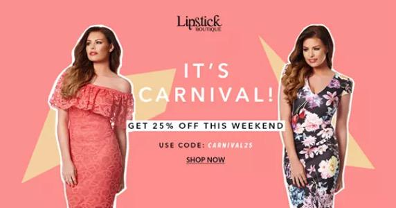 RT @jesswcollection: Get 25% off the @MissJessWright_ collection this weekend by using code: CARNIVAL25 http://t.co/gd8vQlLlPe 🎊 http://t.c…