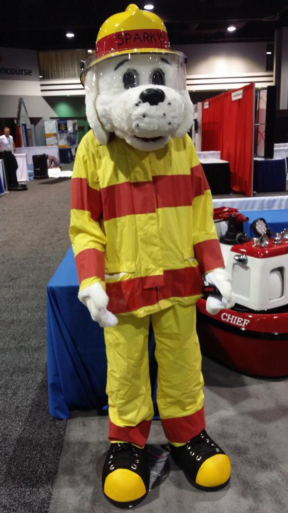 sparky the fire dog costume. 5:51 am - 28 aug 2015 from atlanta, ga. 1 like; motorola solutions. sparky the fire dog costume