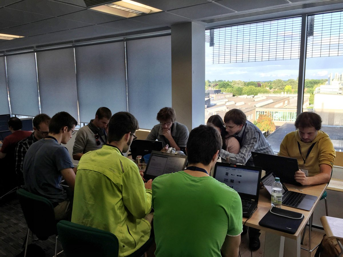 scikit-image sprint at Enthought