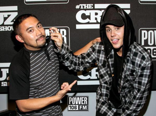 Great having the homie @justinbieber up here @power106la #TheCruzShow #WhatDoYouMean @scooterbraun http://t.co/KiBoHVyBmI