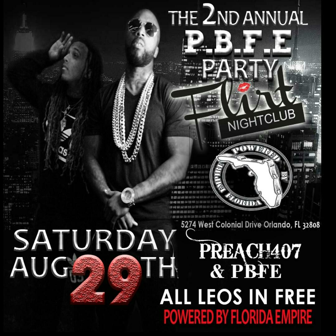 Tomorrow night, come out and support your very own artist @preach407 live at flirt night club.. Still4 Da LEOS. http://t.co/PZOghAq3sL
