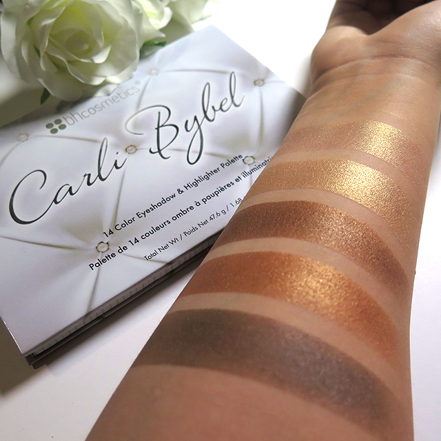 """BH Cosmetics on Twitter: """"FIRST LOOK of shades from the Carli Bybel 14 Color Eyeshadow & Highlighter Palette! #CarliBybelPalette http://t.co/NykzgjDC0R"""""""