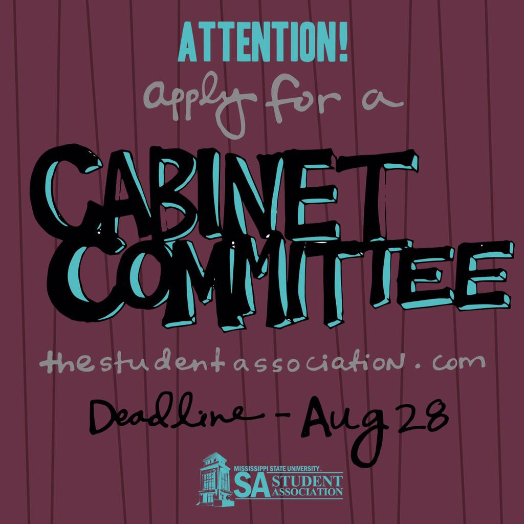 3 hours until the deadline to apply for a SA Committee! Therefore, you have plenty of time left! GO APPLY