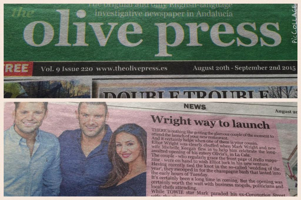 RT @EJ_North: @elliottwright_ ... Nice little write up and full page ad in my local little paper. Can't wait to visit ☺️ http://t.co/7PefbD…