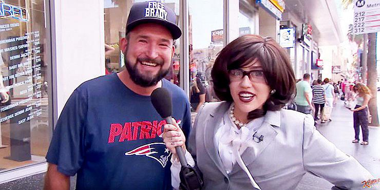 Miley Cyrus Goes Undercover For Jimmy Kimmel To Find Out What The Public Really Think Of H… http://t.co/lJY5fHmh2j http://t.co/omjBR4VF6P