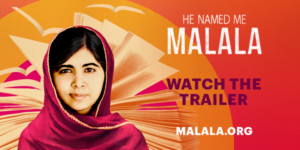 RT @MalalaFund: WATCH new trailer for HE NAMED ME MALALA: http://t.co/eqvYBaObYb.  Pledge to see the film: http://t.co/MiuJ6AW7y9. http://t…