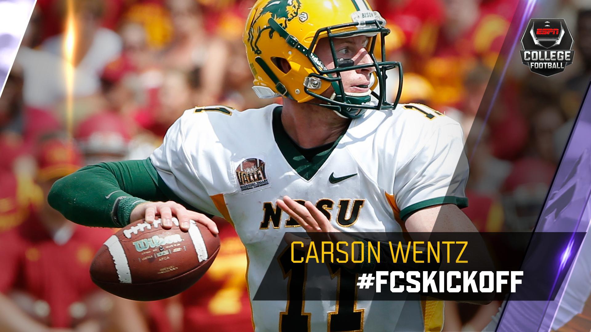Espn College Football On Twitter Carson Wentz Ndsu 2015 Fcs